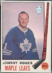 1969-70 O-Pee-Chee #187 Johnny Bower