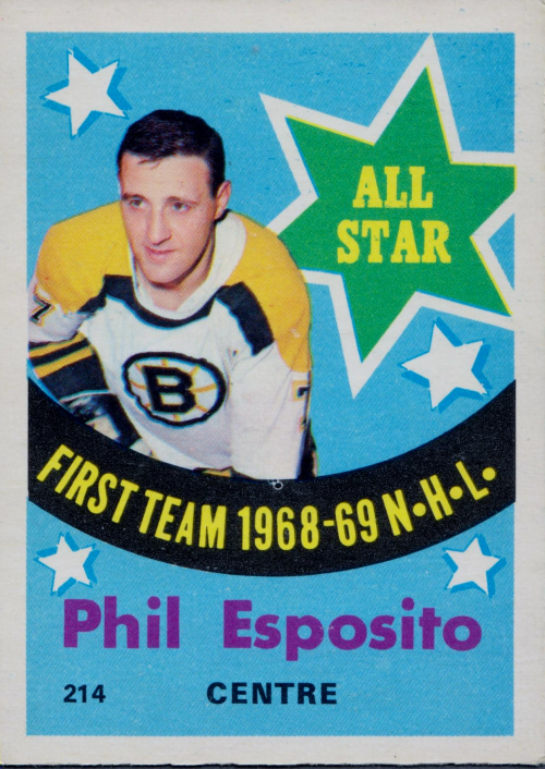 1969-70 O-Pee-Chee #214 Phil Esposito AS