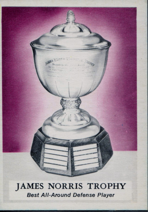1969-70 O-Pee-Chee #228 James Norris Trophy