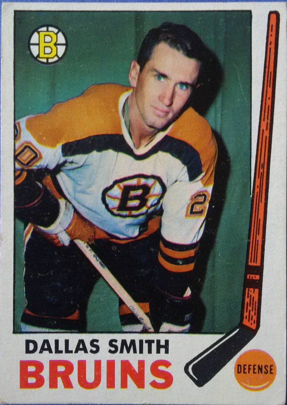 1969-70 Topps #25 Dallas Smith