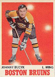 1970-71 O-Pee-Chee #2 Johnny Bucyk