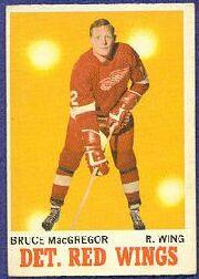 1970-71 O-Pee-Chee #27 Bruce MacGregor