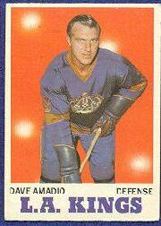 1970-71 O-Pee-Chee #33 Dave Amadio
