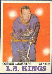 1970-71 O-Pee-Chee #38 Gord Labossiere