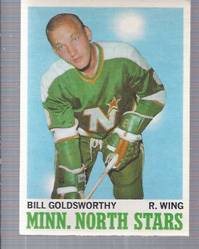 1970-71 O-Pee-Chee #46 Bill Goldsworthy
