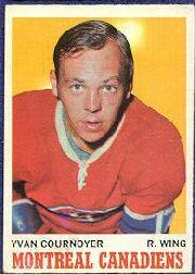 1970-71 O-Pee-Chee #50 Yvan Cournoyer