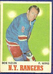 1970-71 O-Pee-Chee #60 Bob Nevin