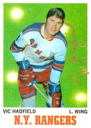1970-71 O-Pee-Chee #62 Vic Hadfield