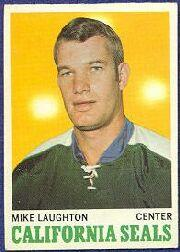 1970-71 O-Pee-Chee #74 Mike Laughton