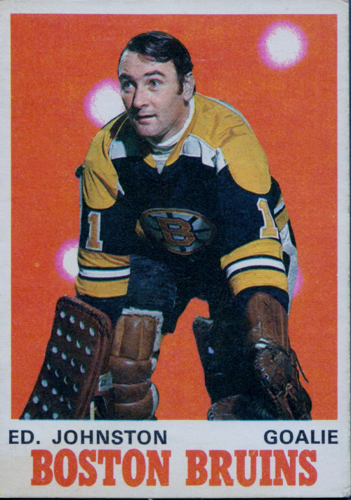 1970-71 O-Pee-Chee #133 Ed Johnston