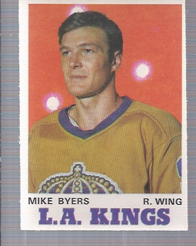 1970-71 O-Pee-Chee #160 Mike Byers RC