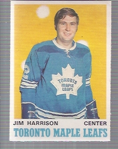 1970-71 O-Pee-Chee #220 Jim Harrison RC