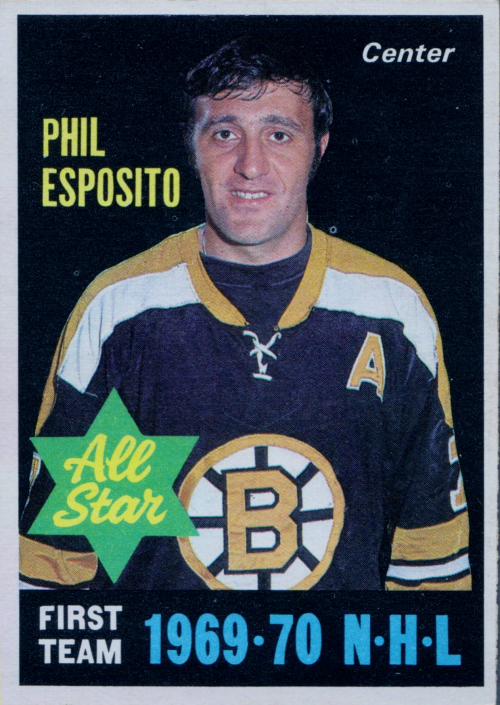 1970-71 O-Pee-Chee #237 Phil Esposito AS1