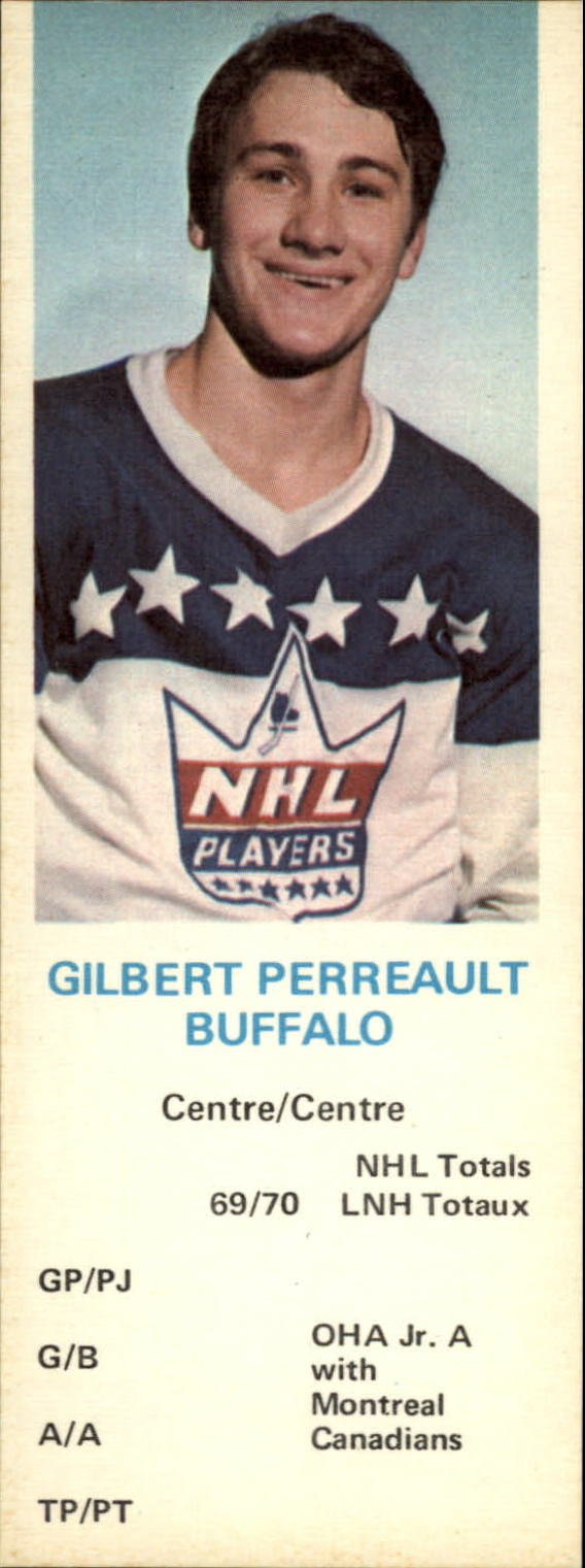 1970-71 Dad's Cookies #99 Gilbert Perreault