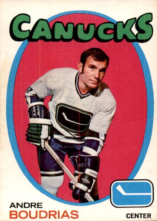 1971-72 O-Pee-Chee #12 Andre Boudrias