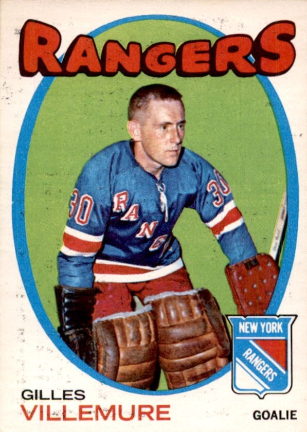 1971-72 O-Pee-Chee #18 Gilles Villemure