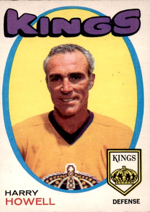 1971-72 O-Pee-Chee #153 Harry Howell