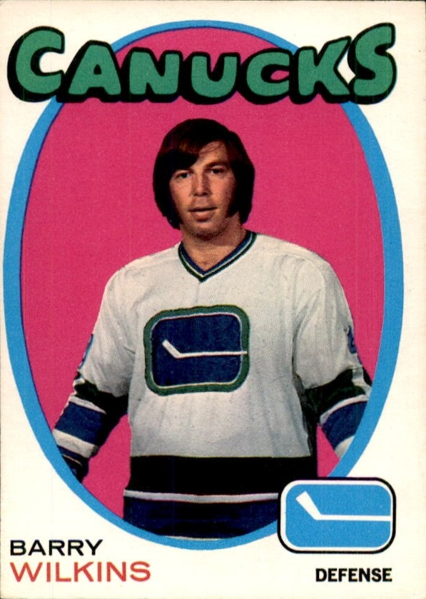 1971-72 O-Pee-Chee #230 Barry Wilkins RC