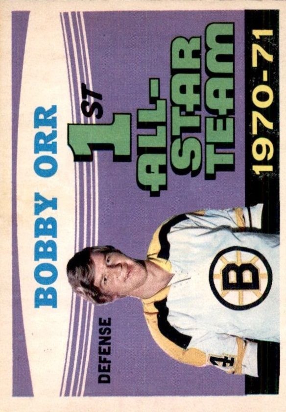 1971-72 O-Pee-Chee #251 Bobby Orr AS1