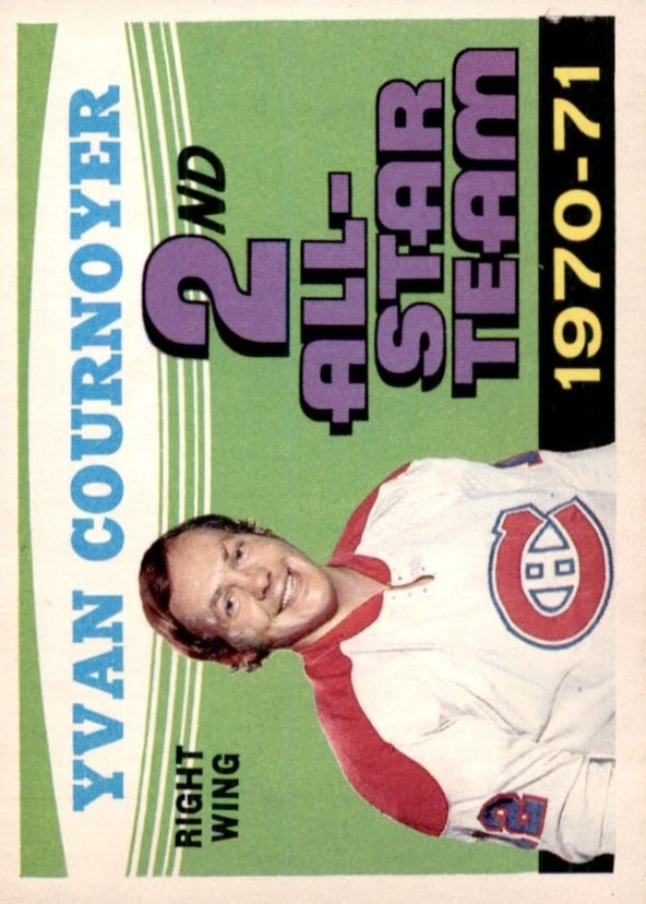 1971-72 O-Pee-Chee #260 Yvan Cournoyer AS2