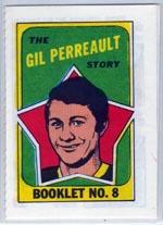 1971-72 O-Pee-Chee/Topps Booklets #8 Gilbert Perreault