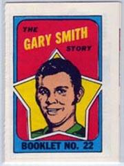1971-72 O-Pee-Chee/Topps Booklets #22 Gary Smith