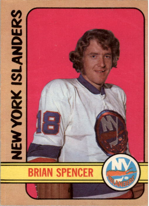 1972-73 O-Pee-Chee #61 Brian Spencer