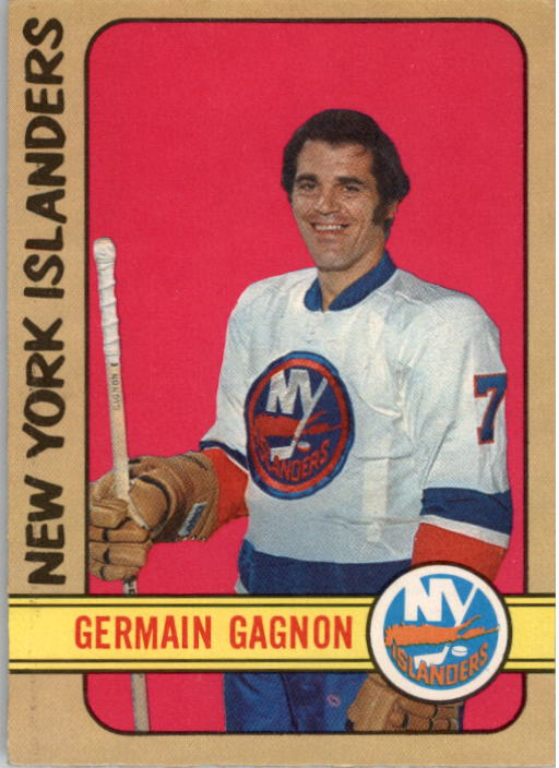 1972-73 O-Pee-Chee #200 Germaine Gagnon UER RC