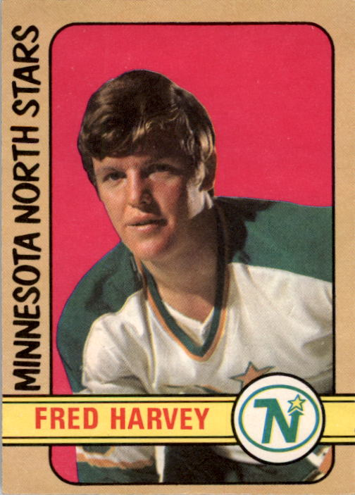 1972-73 O-Pee-Chee #246 Fred Harvey RC