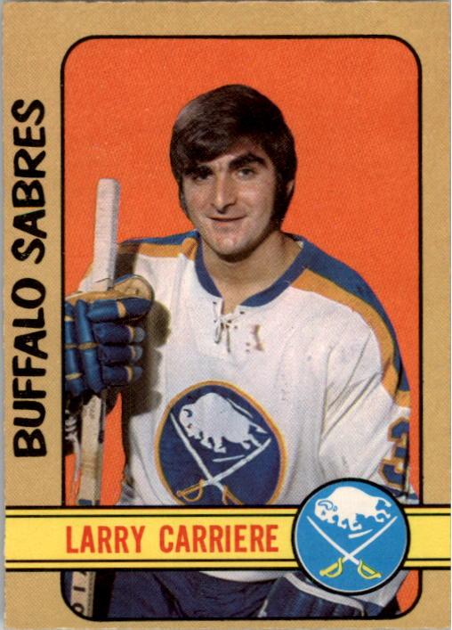 1972-73 O-Pee-Chee #282 Larry Carriere RC