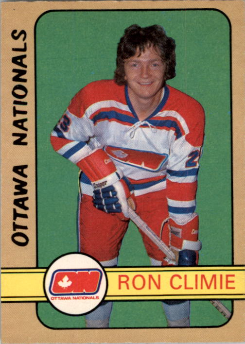 1972-73 O-Pee-Chee #318 Ron Climie RC