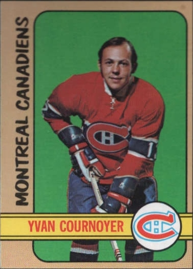 1972-73 Topps #10 Yvan Cournoyer DP