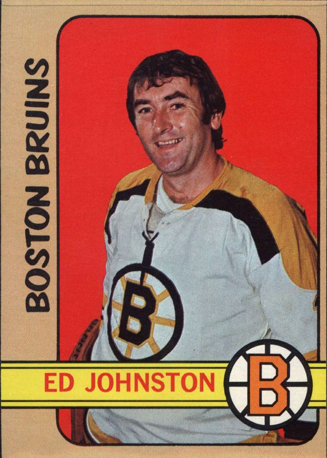 1972-73 Topps #13 Ed Johnston DP