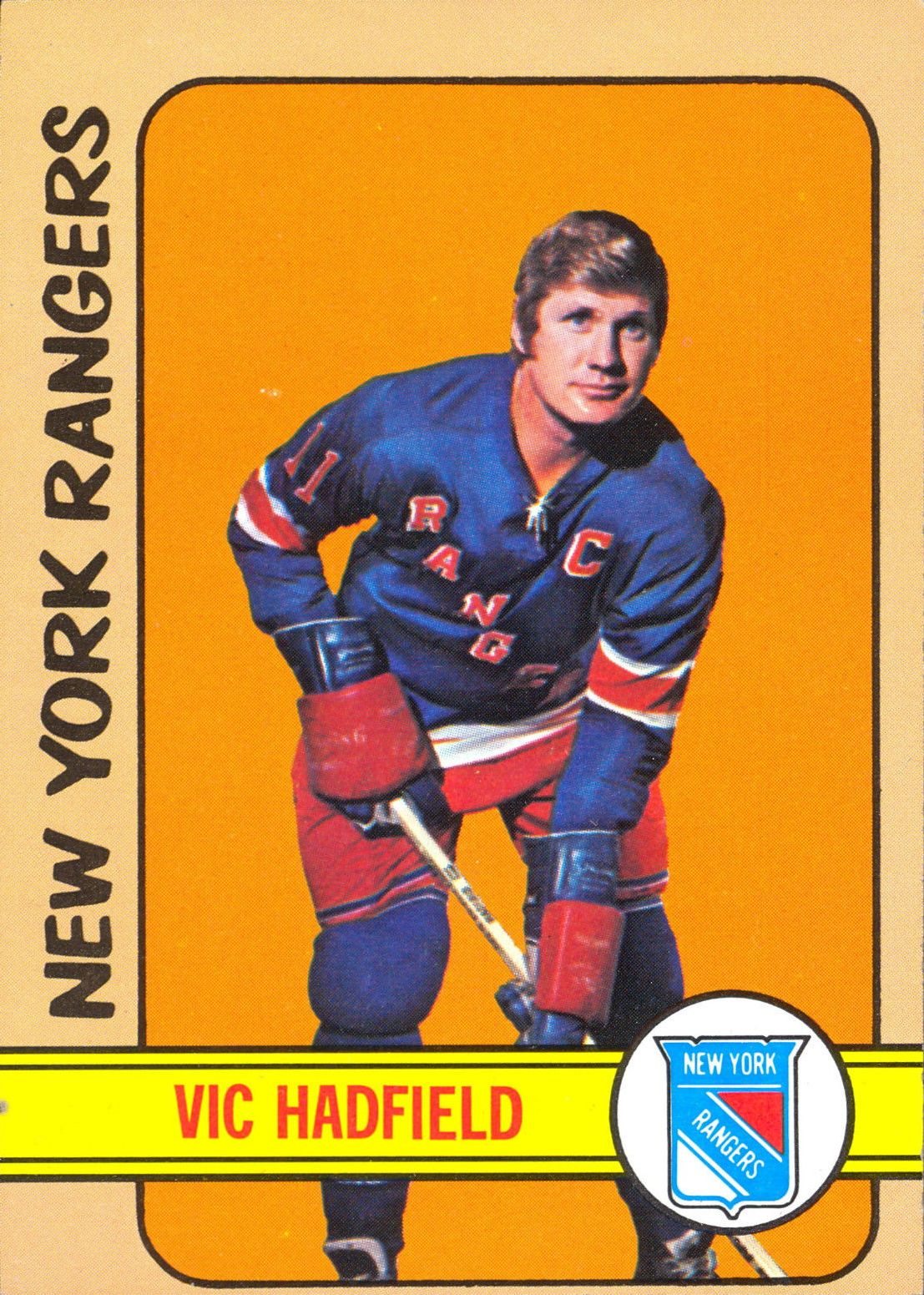 1972-73 Topps #110 Vic Hadfield