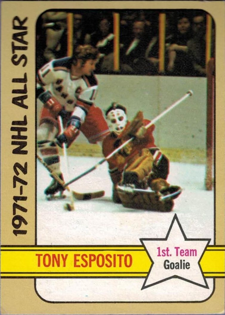 1972-73 Topps #121 Tony Esposito AS1