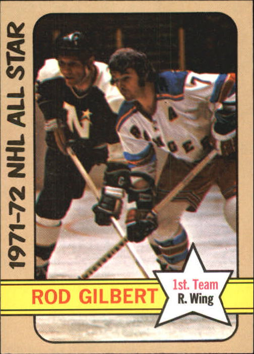1972-73 Topps #125 Rod Gilbert AS1