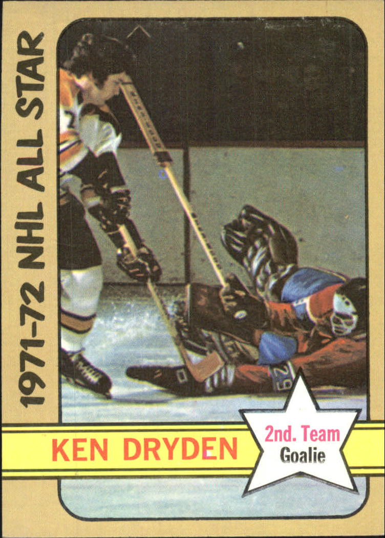 1972-73 Topps #127 Ken Dryden AS2 DP
