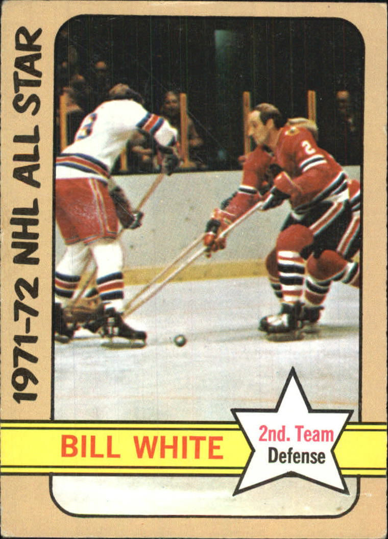 1972-73 Topps #128 Bill White AS2 DP