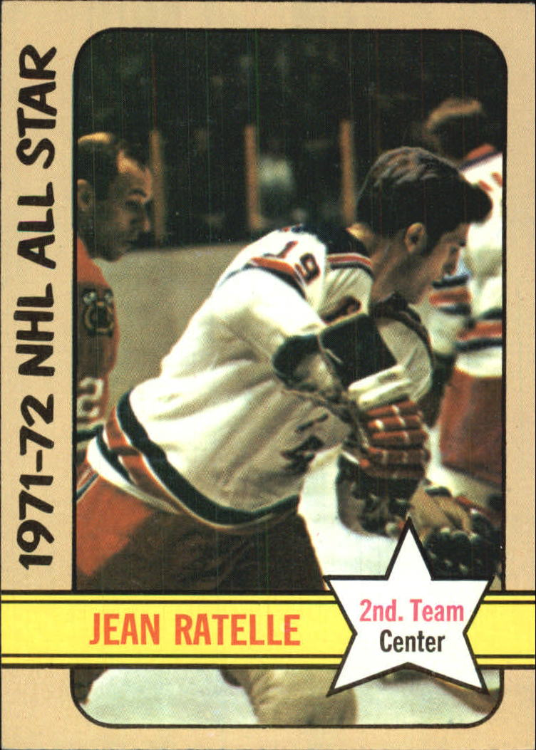 1972-73 Topps #130 Jean Ratelle AS2 DP
