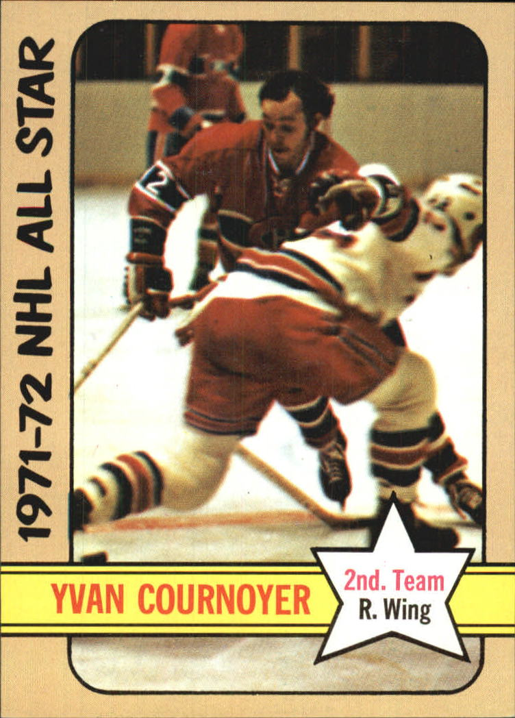 1972-73 Topps #131 Yvan Cournoyer AS2 DP
