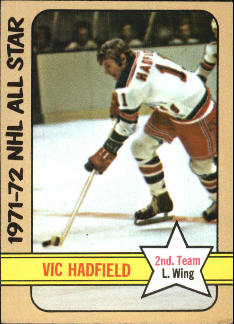 1972-73 Topps #132 Vic Hadfield AS2 DP