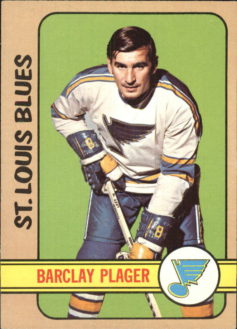 1972-73 Topps #136 Barclay Plager DP