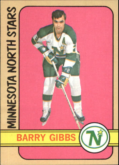 1972-73 Topps #169 Barry Gibbs RC