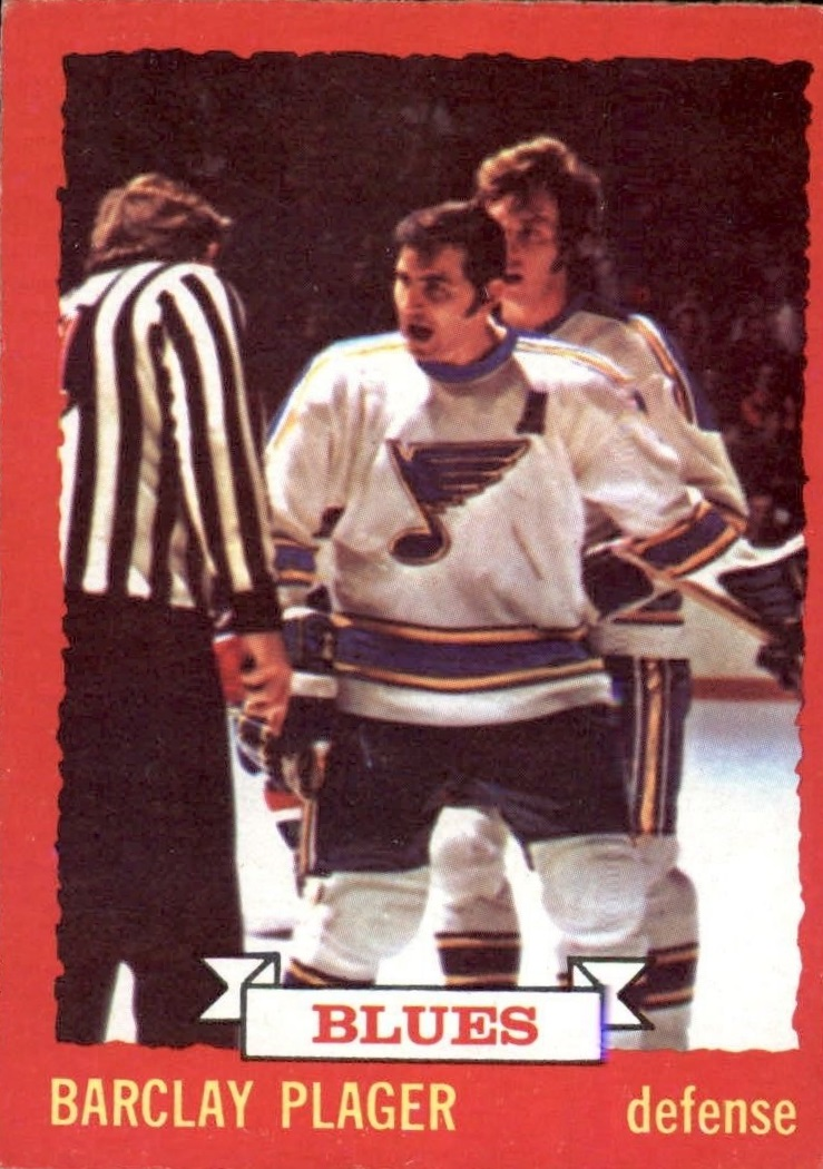 1973-74 O-Pee-Chee #47 Barclay Plager