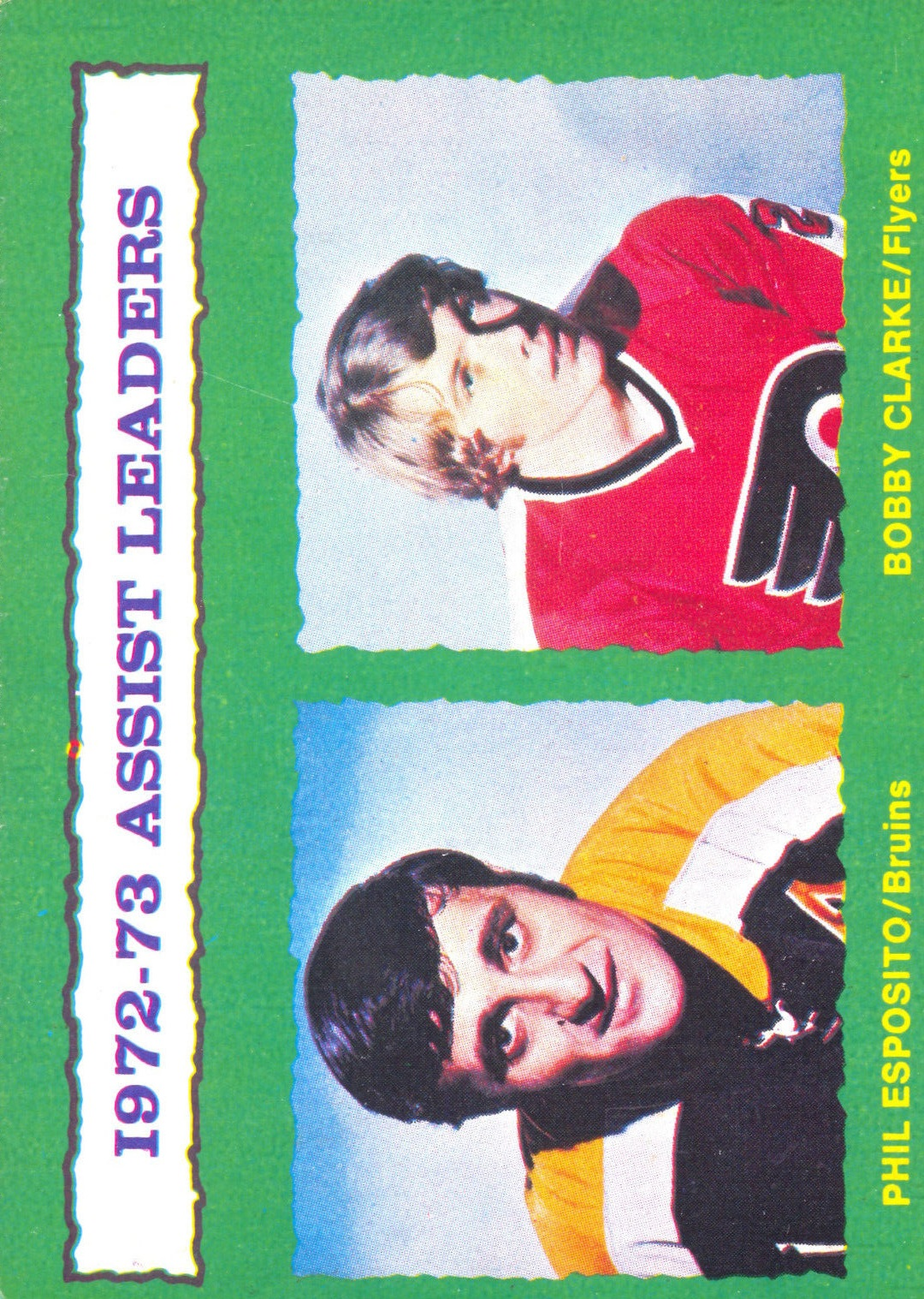 1973-74 O-Pee-Chee #134 Assists Leaders/Phil Esposito/Bobby Clarke