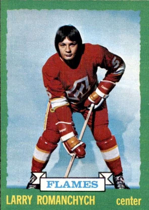 1973-74 O-Pee-Chee #185 Larry Romanchych RC
