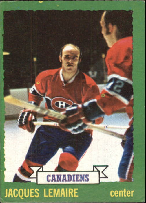 1973-74 Topps #56 Jacques Lemaire