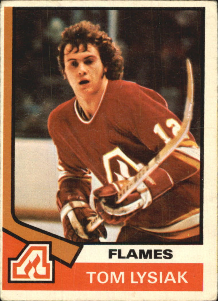 1974-75 O-Pee-Chee #68 Tom Lysiak RC