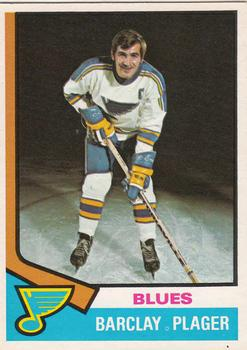 1974-75 O-Pee-Chee #87 Barclay Plager
