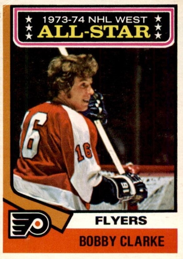 1974-75 O-Pee-Chee #135 Bobby Clarke AS